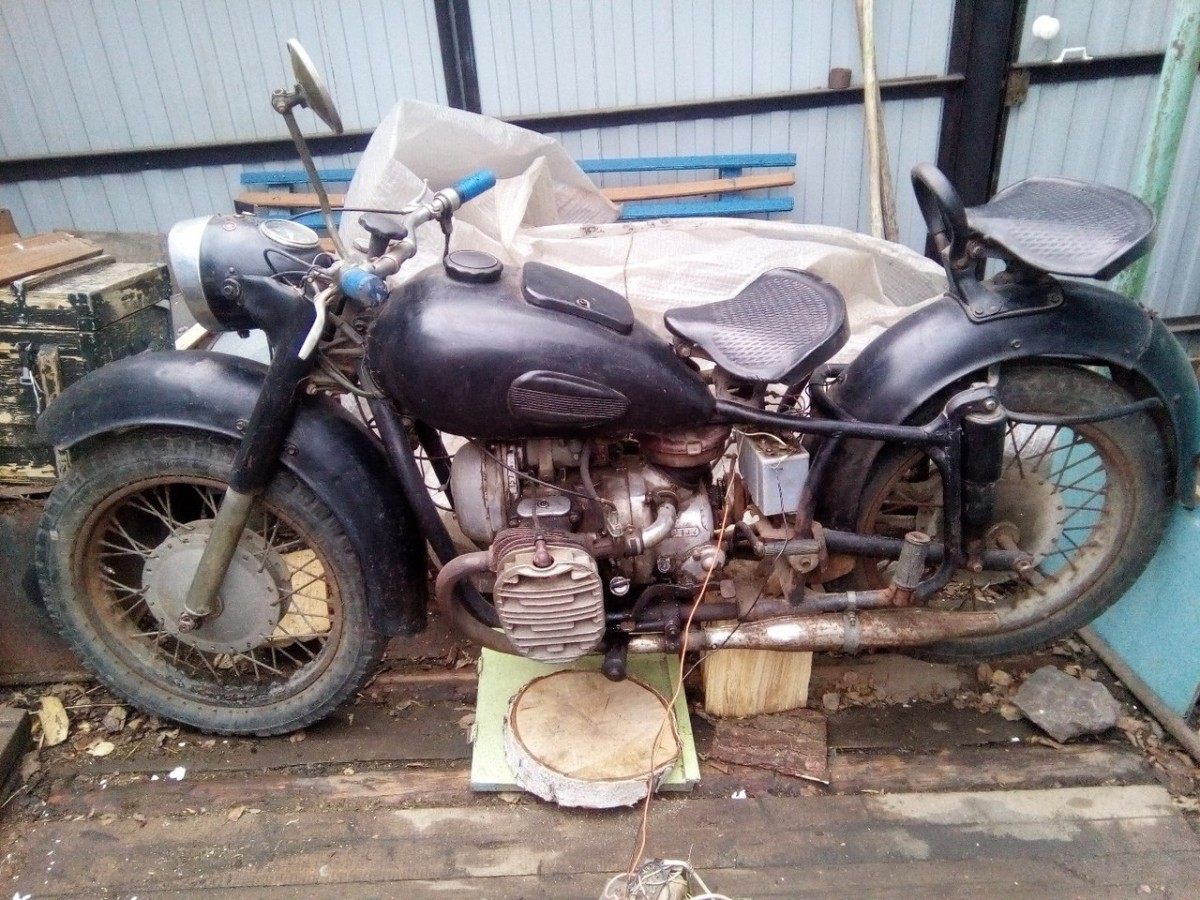 мотоцикл К-750М