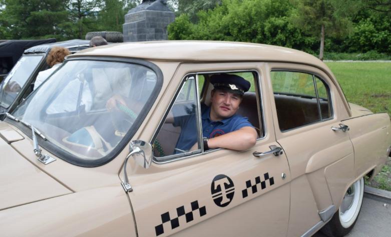 такси ГАЗ 21 Т
