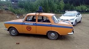 Москвич 412 ГАИ