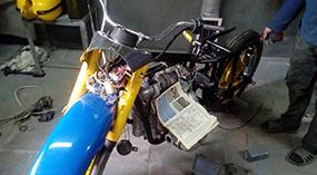 Урал ГАИ с коляской