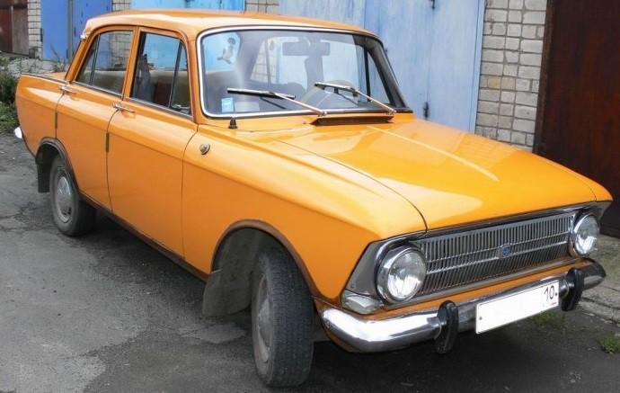 ретро автомобиль Москвич