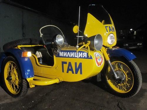 мотоцикл Урал ГАИ