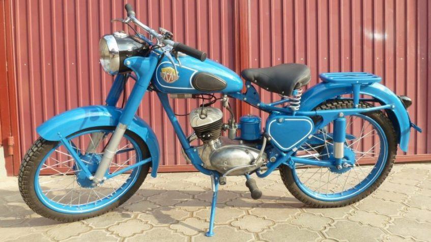 мотоцикл м1м