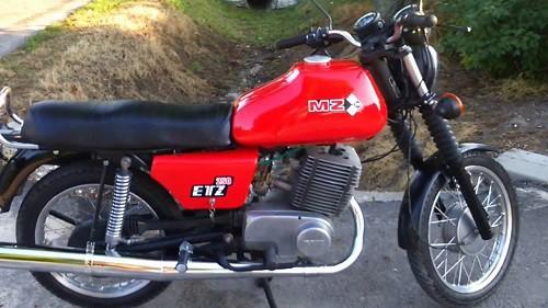 мото MZ ETZ 250